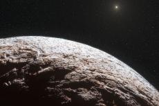 Макемаке на окраине Солнечной системы.