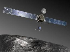 Rosetta: приближение к орбите развертывания (анимация)