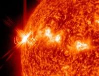Астрономами на Солнце зафиксирован процесс рождения частиц антиматерии