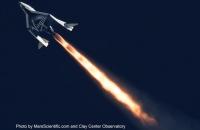Космический аппарат SpaceShipTwo успешно завершил второй тестовый полет.