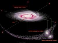 Сверхмощный взрыв обнаружен в центре Галактики.