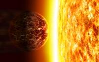 Звезда испаряет планету