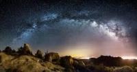Крупнейший газовый поток найден в Млечном пути.