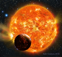 Найдена планета очень похожая на Землю.