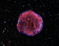 Благодаря ударной волне астрономы заметили останки сверхновой звезды