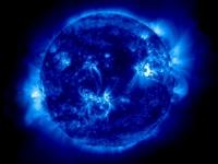 Марсианское солнце встает над Землей