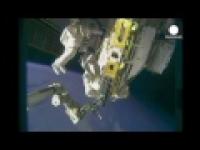 Астронавты МКС провели ремонтные работы в открытом космосе
