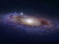 Галактика Андромеда в разных длинах волн