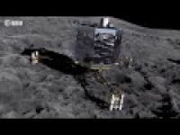 Посадка космического модуля Philae на комету