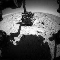 Марсоход Curiosity заснял НЛО.