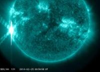 Экстремальный выброс плазмы произошел на  Солнце