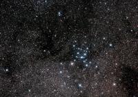 Полет к яркому звездному скоплению М7