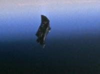Камеры на МКС смогли запечатлеть НЛО.  (ВИДЕО)