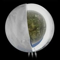 Кассини обнаружил океан на одной из лун Сатурна