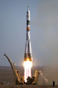 На ракете-носителе