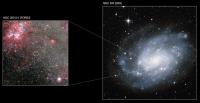Черная дыры в галактике NGC 300. (ВИДЕО)