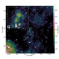 Астрономы обнаружили загадочную радиогалактику