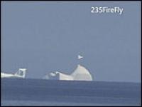 НЛО замечено над айсбергом в Канаде