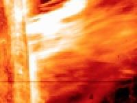 Гигантский выброс на Солнце – Ультра приближение