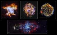 Уникальные снимки рентгеновской обсерватории Чандра