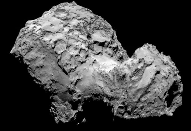 Космический зонд Rosseta успешно вышел на орбиту кометы Чурюмова – Герасименко