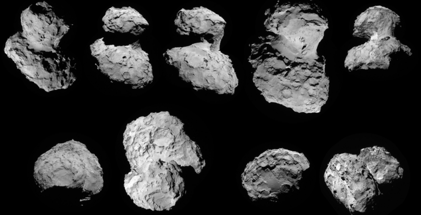 Как не потеряться на комете Чурюмова-Герасименко