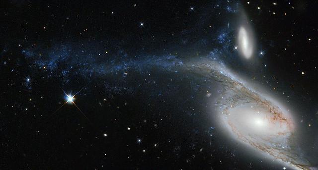 NGC 6872. Пекулярная галактика