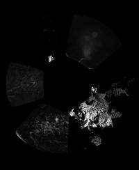 Первые снимки от зонда Philae