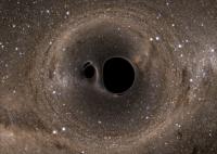 Грандиозное столкновение черных дыр