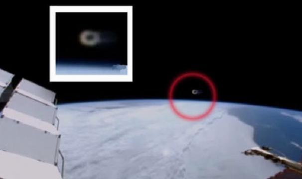 Камеры МКС зафиксировали шарообразный НЛО