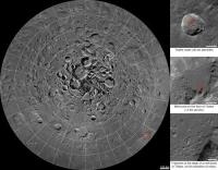 Интерактивная мозаика северного полюса Луны