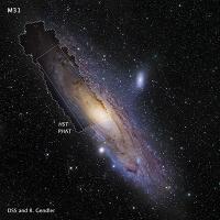 Галактика Андромеда в HD
