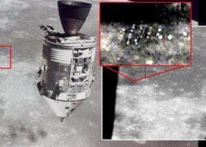База НЛО на Луне