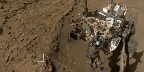 Curiosity обнаружил доказательства кислорода на Марсе