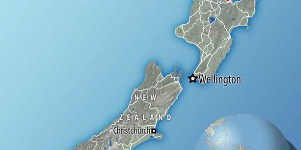 Город Матата Новая Зеландия
