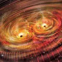 Гравитационные волны в пространстве времени