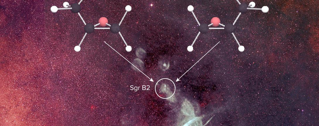 Рукопожатие жизни: хиральные молекулы обнаружены в межзвездном пространстве