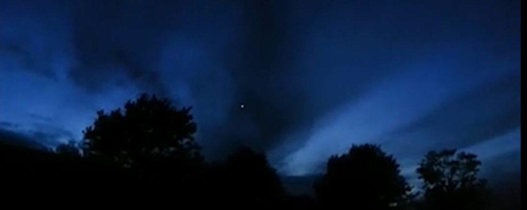 Очевидцы поделились наблюдением странного НЛО в 2013 году