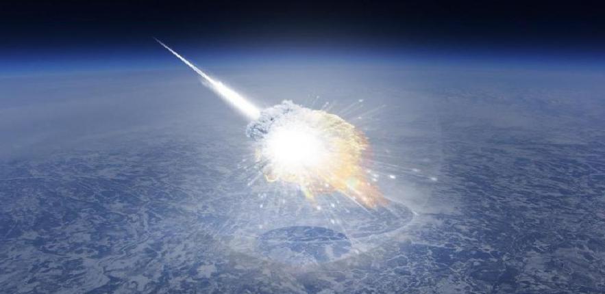 НЛО разрушил метеорит над штатом Мэн в США