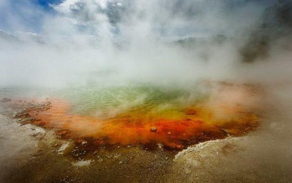 Поземный «Зомби Вулкан» обнаружен в Новой Зеландии