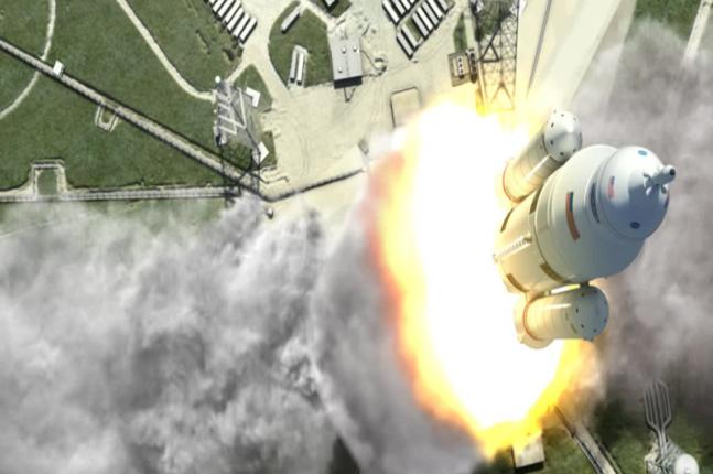 В США испытают ускоритель для полёта на Марс
