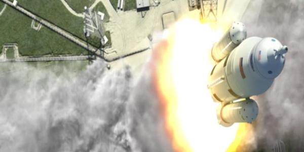 Ракета SLS