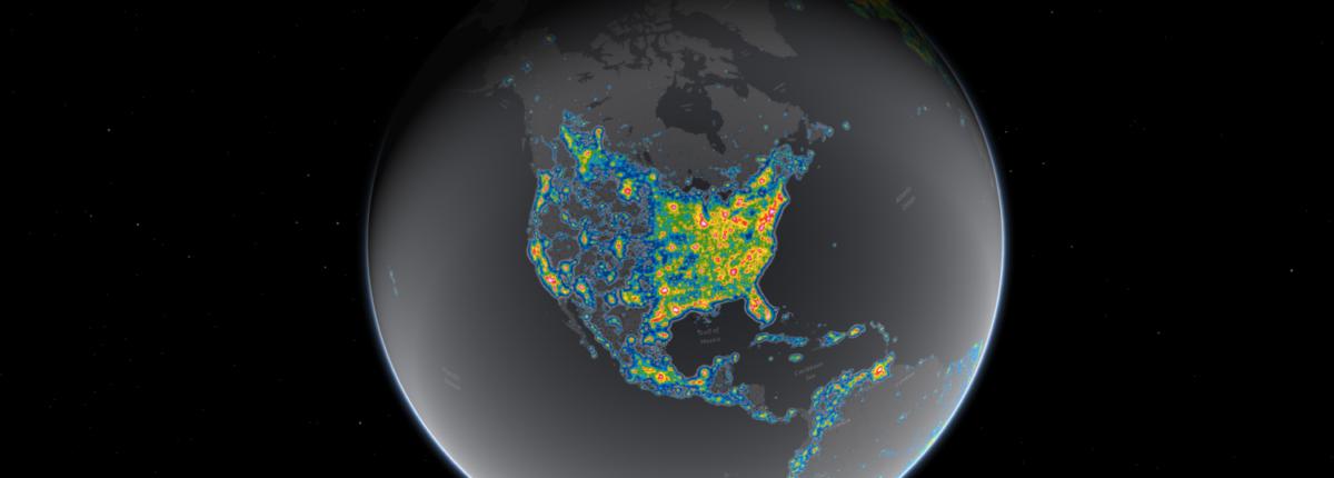Млечный Путь теперь скрыт от одной трети человечества