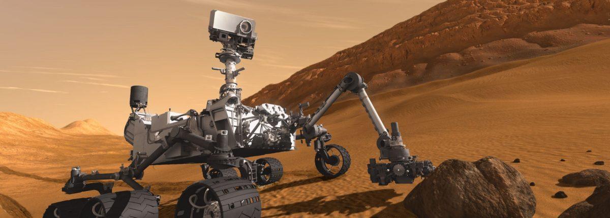 На Марсе обнаружен тридмит
