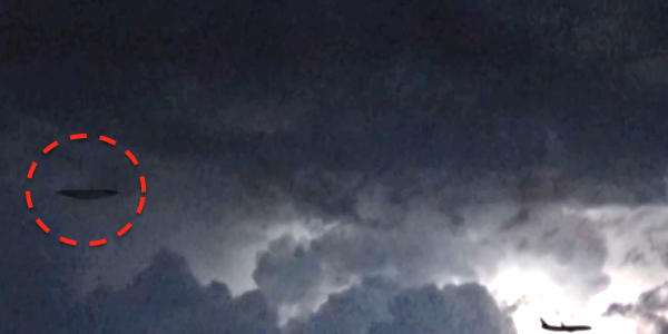 НЛО в небе над Италией