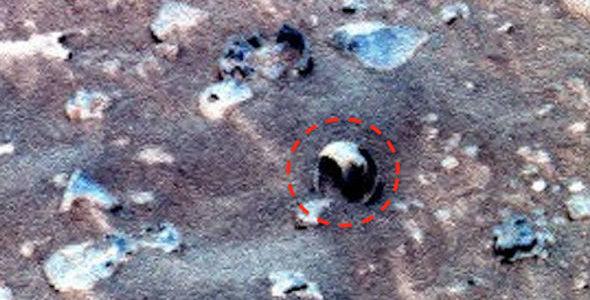 Раковина на Марсе