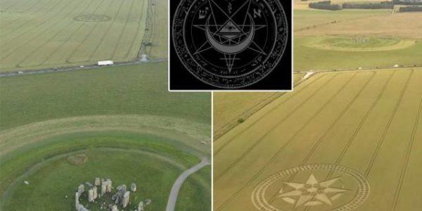 Рисунки на полях Стоунхендж