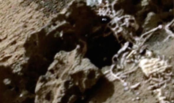 Уфологи обнаружили «скелет инопланетянина» на Марсе