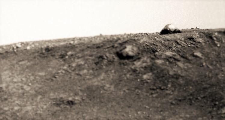 Масоход Opportunity сфотографировал куполообразное сооружение на Марсе