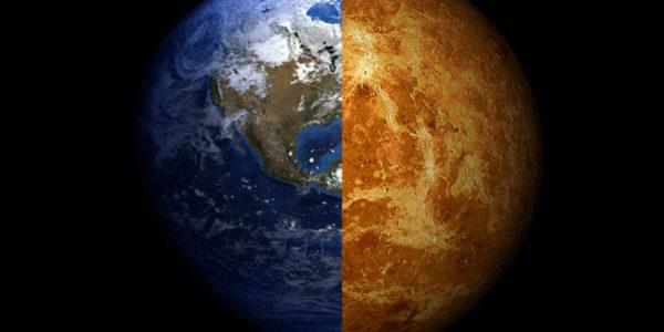 Венера Земля